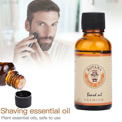 6138 E256 Men's Natural Shave Beard Mustache Oil Cleansing Essential Oils Facial