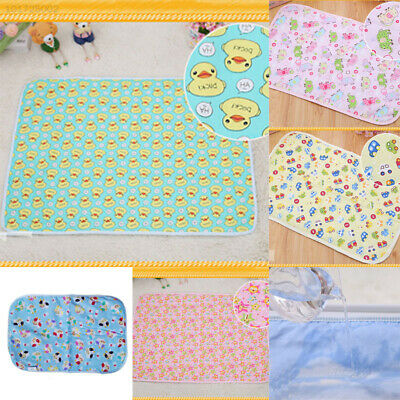 8F57 A1AB Baby Diaper Nappy Urine Mat Nursery Blanket Bedding Changing Cover Pad