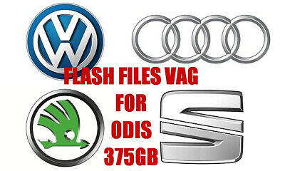 💸 09.2018 VAG Flash Files BIG Collection 375GB FOR ODIS and VAS-PC DOWNLOAD OBD