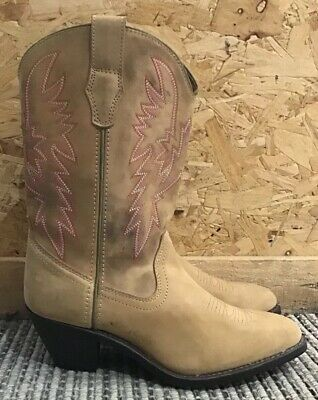 2a1314a3935 LADIES WHITE LEATHER Boots Western Fringe Cowboy Cowgirl Tassel Boot ...