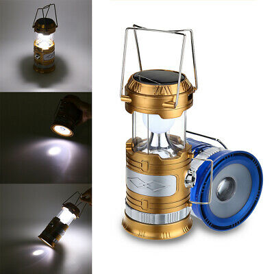 Portable Inclinable Zoom Lantern Camping Tente Solaire LED USB Rechargeable