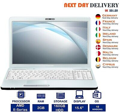 TOSHIBA SATELLITE C660 LAPTOP WINDOWS 7 CORE i3 WEBCAM 320GB