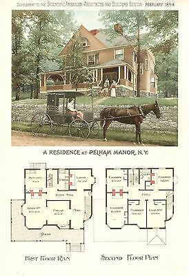 Pelham Manor, N. Y.- Scientific American Architects and Builders Edition - 1894