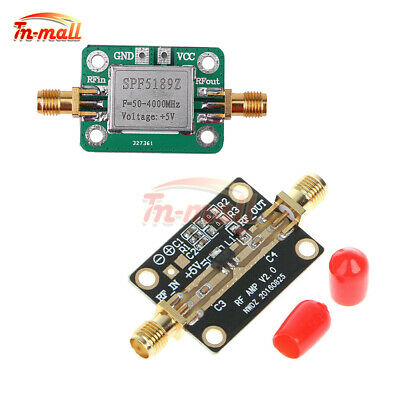 LNA 0.05-4GHz RF Amplifier SPF5189 Signal Ultra Low Noise High Linearity NF0.6dB