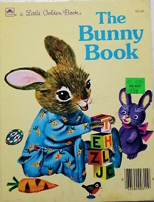A Little Golden Book The Bunny Book 311-63