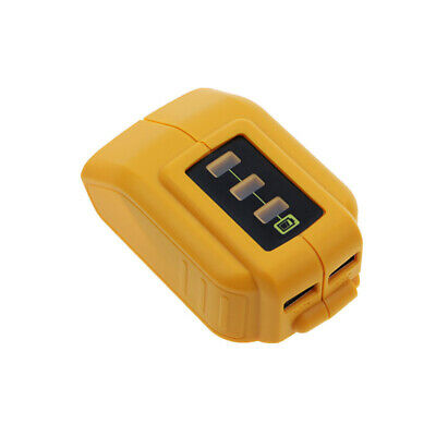 Universal USB Charger Adapter Converter for DEWALT 12/18/20V Li-ion DCB090 Well