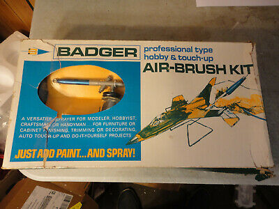 BADGER No. 200 HOBBY TOUCH UP AIR-BRUSH, NOS