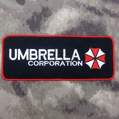 Resident Evil Umbrella Corporation Big Back Of The Body Patch B1900