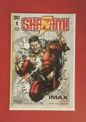 DC SHAZAM 2019 Movie Collectable Comic Book AMC IMAX Exclusive Limited Edition