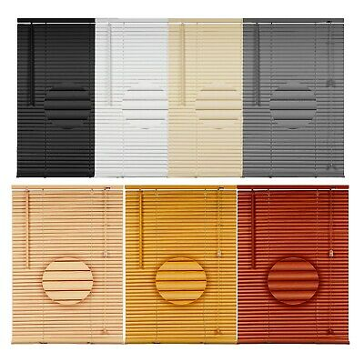 Pvc Venetian Blinds Window blinds Easy Fit White Grey Black VENETIAN BLIND sizes