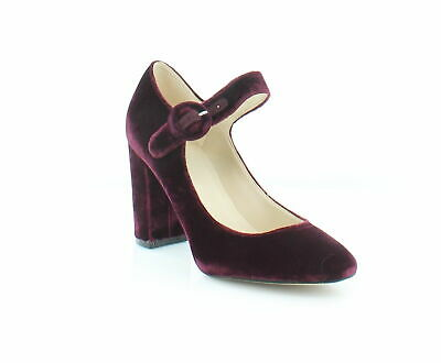 d88933da30 Marc Fisher Womens Shaylie2 Fabric Round Toe Mary Jane Pumps, dark Red Size  7.5