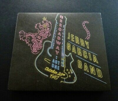 Jerry Garcia Band On Broadway Act One October 28, 1987 JGB JG 3 CD Grateful Dead