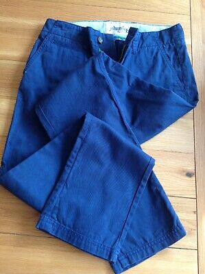 Boden Boys Blue Chinos - Size 28L