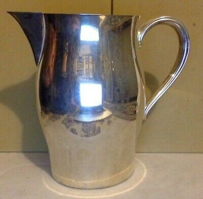 Vintage Silver Plate. Pitcher. William Rogers. Paul Revere Reproduction. 7 1/2""