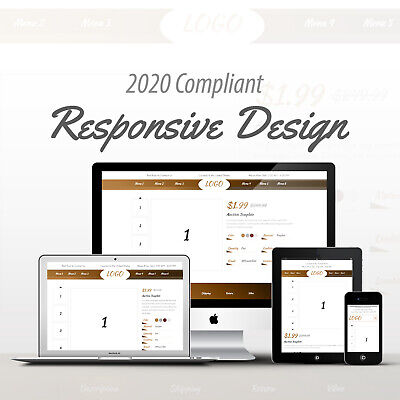2019 Compliant Mobile Responsive Ebay Auction Listing Template Professional 02