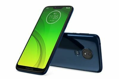 "USED Moto G7 Power 64GB + 4GB  XT1955-2 6.2"" DS 5000mAh LTE Unlocked"
