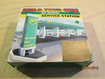 "BP ""Build Your Own"" service station model or diorama, 1995"