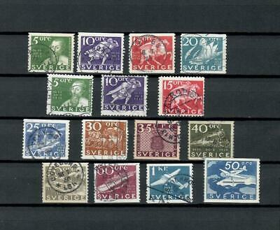 Sweden Collection Of Used Classic   Stamps See Scan Lot (Swed 12)