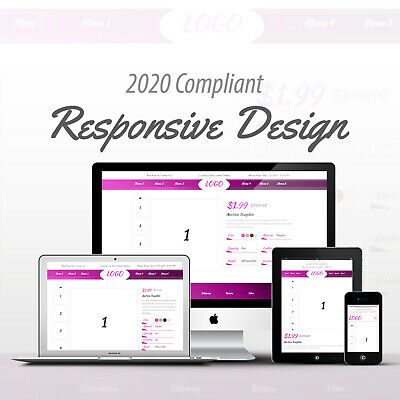 2019 Compliant Mobile Responsive Ebay Auction Listing Template Professional 03