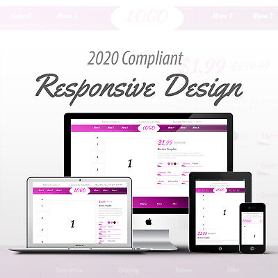 2020 Compliant Mobile Responsive eBay Auction Listing Template Professional 03