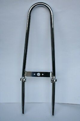 Vintage Mini Bike Chopper Sissy Bar Fits Bonanza  Scout Models
