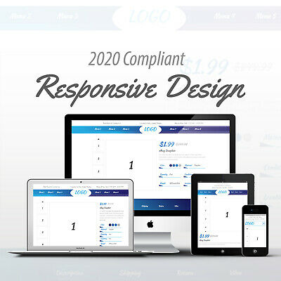 2019 Compliant Mobile Responsive Ebay Auction Listing Template Professional 04