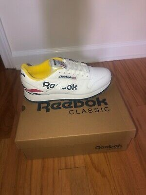 reebok classic leather white Hommes Running