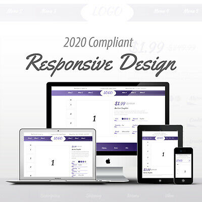 2019 Compliant Mobile Responsive Ebay Auction Listing Template Professional 07