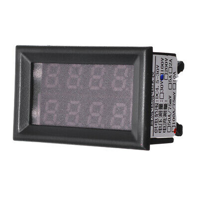 100V Dc 12V Car Digital Volt Meterr Ammeter LED Light Amp Volt Meterr