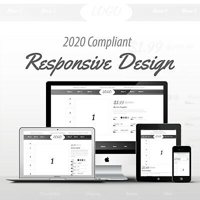 2019 Compliant Mobile Responsive Ebay Auction Listing Template Professional 10