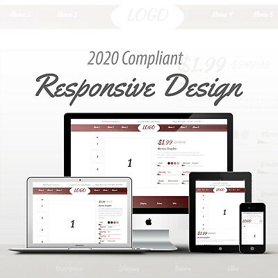2019 Compliant Mobile Responsive Ebay Auction Listing Template Professional 12