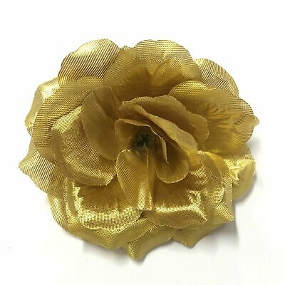 Artificial Silk Flower Head - Pink Rose Style 116 - 1pc