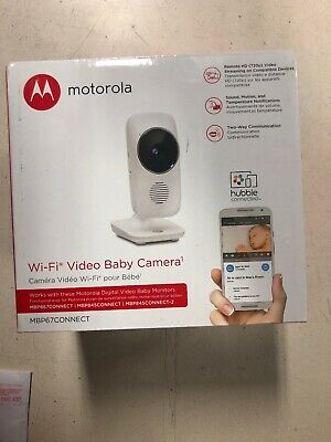 Motorola MBP667 Connect Digital Video Color LCD Screen Baby Monitor Wi-Fi/2.8""