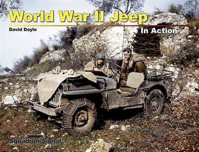 World War II Jeep in Action  12042