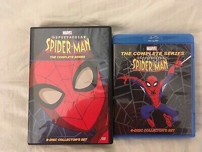 The Spectacular Spider-Man The Complete Series on Blu-Ray and DVD