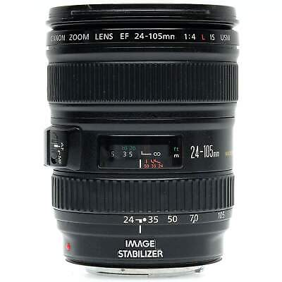 Canon EF 24-105mm f4 L IS USM Zoom Lens with Hood