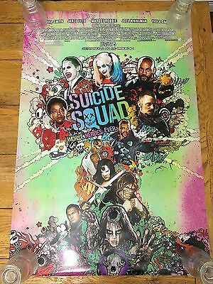 Suicide Squad DS Theatrical Movie Poster 27x40