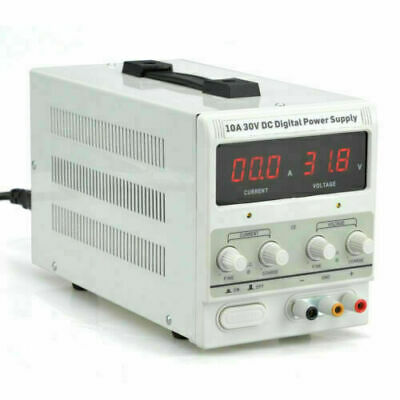 10A 30V DC Power Supply | Adjustable Dual Digital Variable Precision | Lab NEW