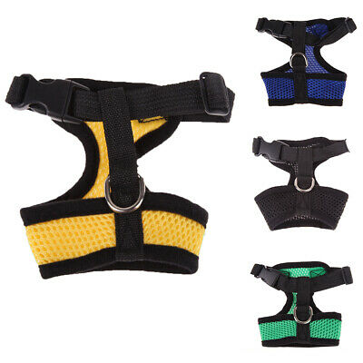 Nylon Pet Puppy Soft Mesh Dog Harness Strap Vest Collar For Small Medium Intrig