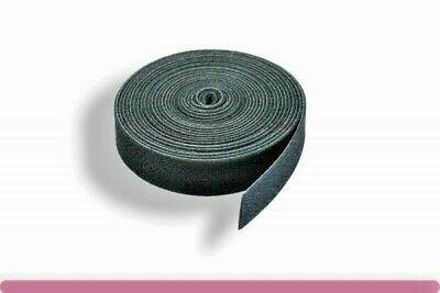 "5 yards( 15ft) VELCRO® OneWrap®  3/4"" wide Reusable  Strap two Sided Black color"
