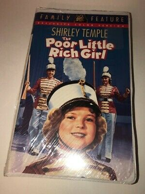 FACTORY SEALED The Poor Little Rich Girl (VHS, Clam Shell) ***Brand New***