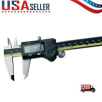 Stainless Steel Electronic Digital Caliper Absolute Origin 0-150MM With Four Key