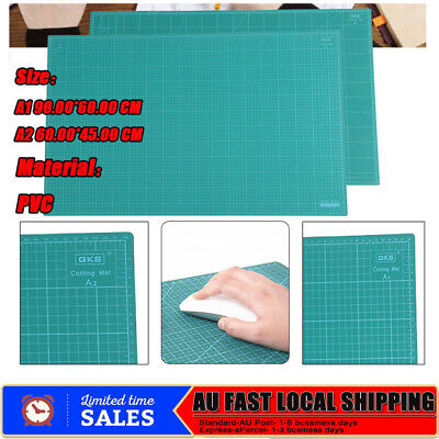 A1 A2 Thick 5-Ply Self Healing Craft Cutting 2 Side Print Scrapbooking Quilting