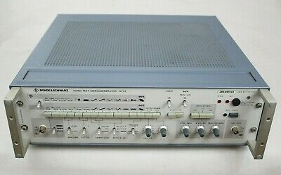 Rohde & Schwarz 283.0611.03 Video Test Signal Generator SPF 2, Tested