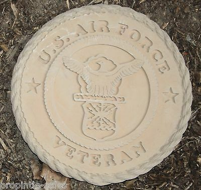 "E. E. U. u Airforce Veterano Retro Embosed Mantle Placa (Lisa ) 11 ""X 1"" - Made"