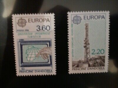 :::,,,,,*ANDORRE 1988  NEUF sans charniere  30 paires cote 390 euros n 369/370