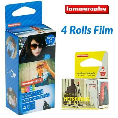 Lomography LOMO COLOR 400 ISO 135 35mm 36exp Color Negative Film 3 Rolls -US