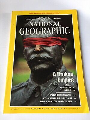 National Geographic Magazine, March 1993 (Volume 183  No 3)