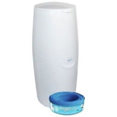 Angelcare Nappy Disposal System Plus 1xRefill Cassette FREE UK POST