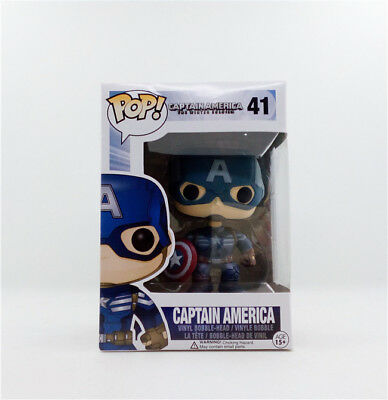 Funko Pop! The Avengers Captain America Vinyl Action Figure POP 41#